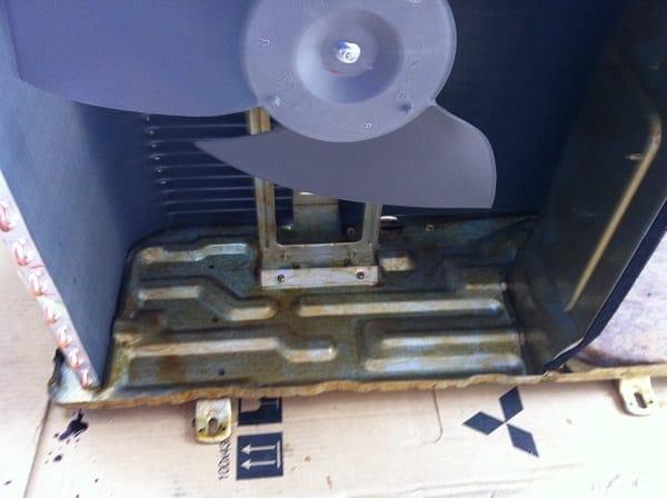 Air Conditionier Rust Prevention Treatment