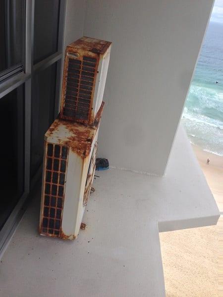 Air Conditioner Rust Prevenetion