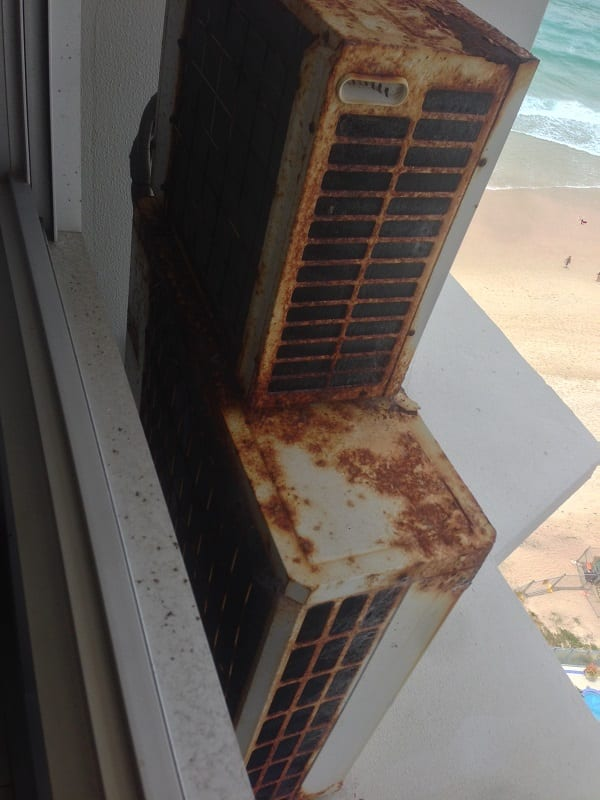 Severe Corrosion To Outdoor Unit