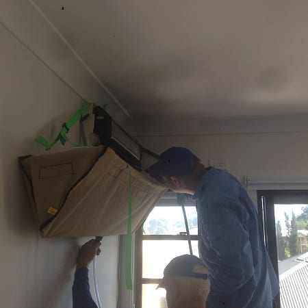 Split System Air Conditioner Cleaning Brisbane
