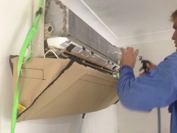 Split System Indoor Unit Cleaning